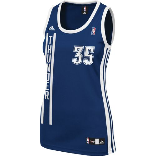 Image for adidas Women's Oklahoma City Thunder Kevin Durant #35 Replica Alternate Jersey from Academy
