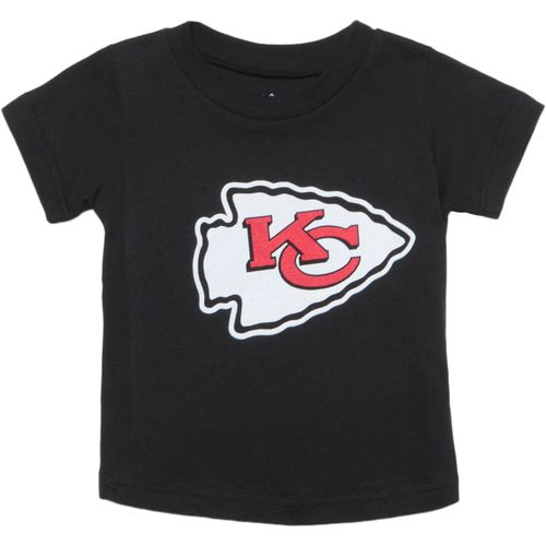 NFL Toddler Boys' Kansas City Chiefs Team Logo Short Sleeve T-shirt
