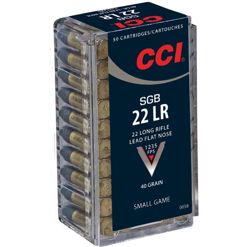 Display product reviews for CCI® SGB .22 LR 40-Grain Rimfire Ammunition