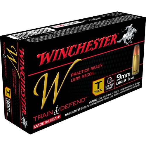 Winchester Train and Defend 9mm Luger 147-Grain Centerfire