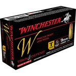 Winchester Train and Defend 9mm Luger 147-Grain Centerfire FMJ Pistol Ammunition