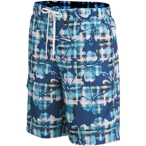 Image for O'Rageous® Men's Plaid Hibiscus Boardshort from Academy