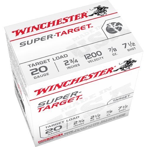 Winchester Target Load 20 Gauge 7.5 Shotshells - view number 2