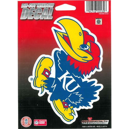 Tag Express University of Kansas Die-Cut Decal - view number 1