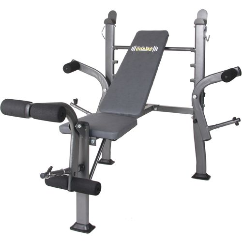 Display product reviews for Body Champ Standard Weight Bench with Butterfly