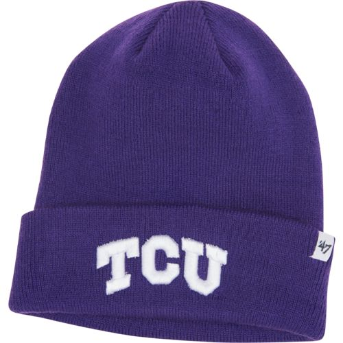 Display product reviews for '47 Men's Texas Christian University Raised Cuff Knit Cap