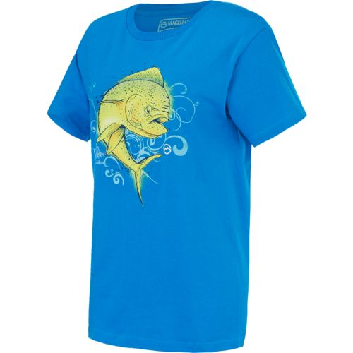 Magellan outdoors women 39 s mahi t shirt academy for Magellan women s fishing shirts