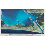 Shoreline Publishing North Laguna Madre Bay and South Corpus Christi Bay Aerial Photocard