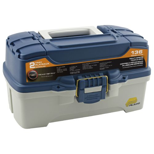Ready 2 Fish 2-Tray Multispecies Tackle Box
