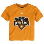 adidas™ Toddlers' Houston Dynamo Logo Short Sleeve T-shirt