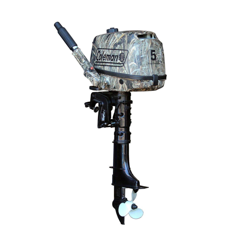Coleman® Camo 5 HP 4-Stroke Outboard Motor
