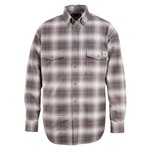 Wolverine Men's Flame Resistant Twill Plaid Shirt