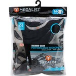 Medalist® Men's Performance Base Layer Hybrid Mesh Thermal Top