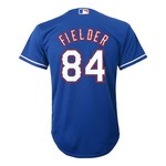 MLB Boys' Texas Rangers Prince Fielder #84 Cool Base Alternate Replica Jersey