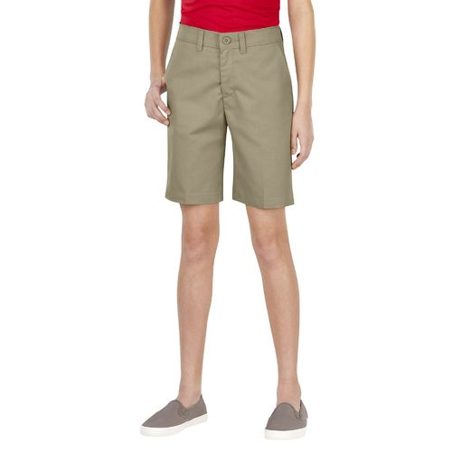 Dickies Girls' Flat Front Uniform Short