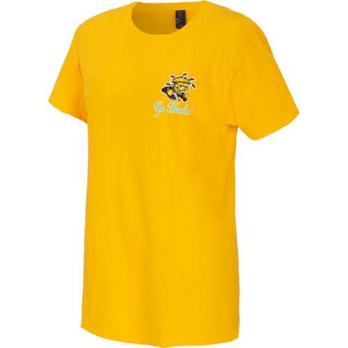 New World Graphics Women's Wichita State University Bright Bow T-shirt