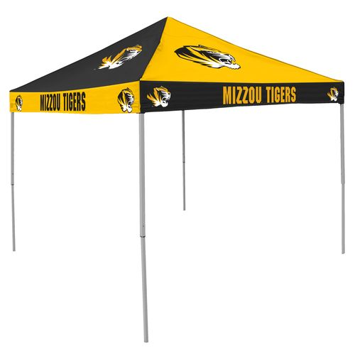 Logo University of Missouri Straight-Leg 9 ft x 9 ft Checkerboard Tent