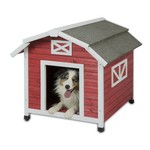 Precision Pet Products Old Barn Doghouse