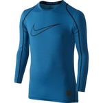Nike Boys' Hypercool High Brand Read Fitted Long Sleeve Top