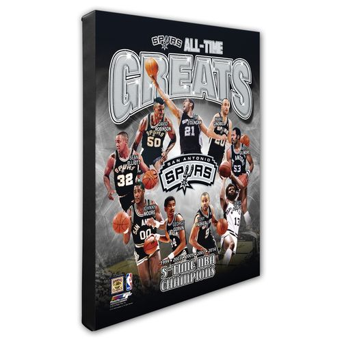 Photo File San Antonio Spurs All-Time Greats 8""