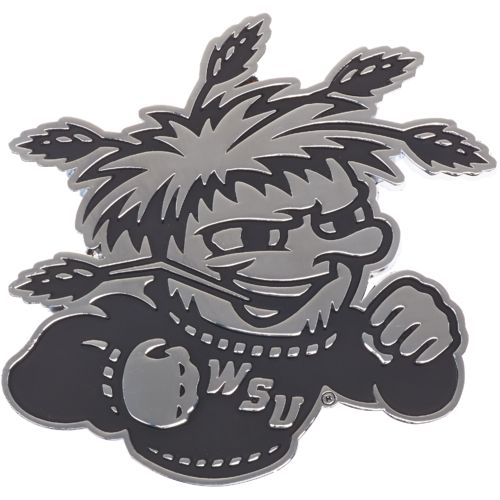 Stockdale Wichita State University Chrome Auto Emblem