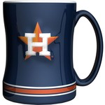 Boelter Brands Houston Astros 14 oz. Relief Style Coffee Mug - view number 1
