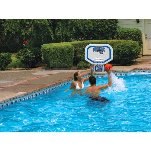 Poolmaster® Orlando Magic Pro Rebounder Style Poolside Basketball Game - view number 2