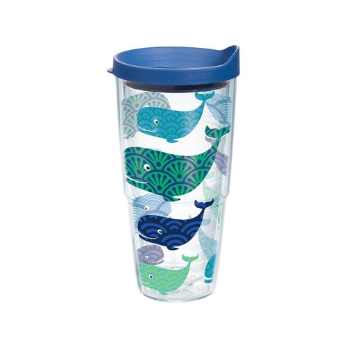 Tervis Whale 24 oz. Tumbler with Lid