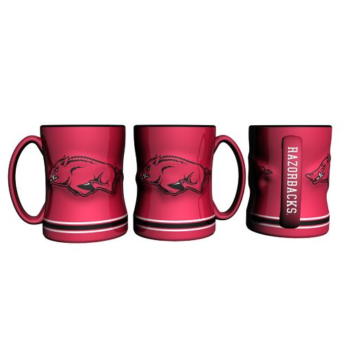 Boelter Brands University of Arkansas 14 oz. Relief-Style Coffee Mug