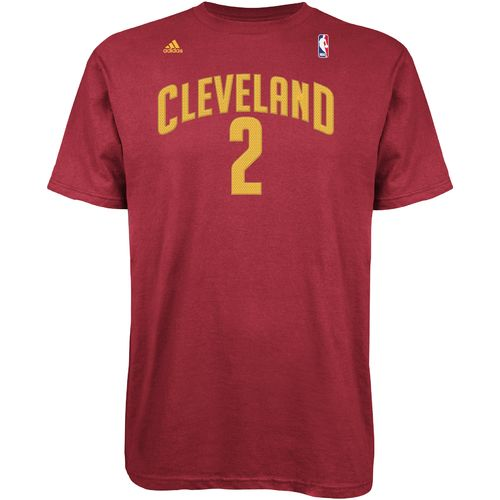 adidas™ Men's Cleveland Cavaliers Kyrie Irving #2 High Density T-shirt