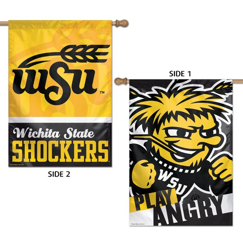 WinCraft Wichita State University 2-Sided Vertical Flag