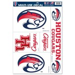 WinCraft University of Houston Multiuse Decals 5-Pack