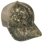 Realtree Men's Camo Logo Cap
