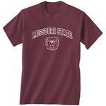 New World Graphics Men's Missouri State University Arch Mascot T-shirt