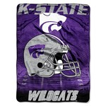 The Northwest Company Kansas State University Overtime Micro Raschel Throw
