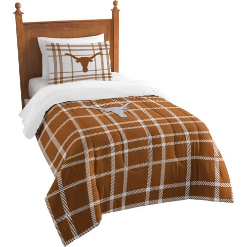 The Northwest Company University of Texas Twin Comforter and Sham Set