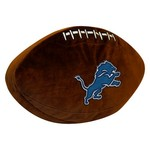 The Northwest Company Detroit Lions Football Shaped Plush Pillow - view number 1