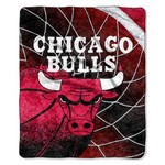The Northwest Company Chicago Bulls Jersey Reflect Sherpa Throw