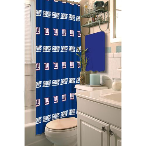 The Northwest Company New York Giants Shower Curtain