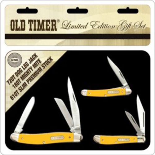 Old Timer 3-Knife Limited Edition Tin Set