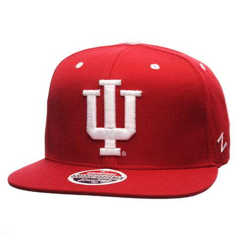 Zephyr Adults' Indiana University Z11 Core Snapback Hat