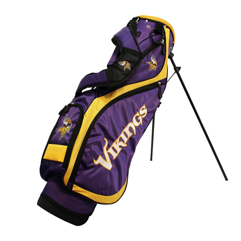 Team Golf Minnesota Vikings Nassau Golf Stand Bag