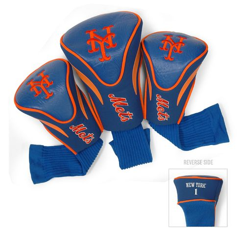 Team Golf New York Mets Contour Sock Head Covers 3-Pack