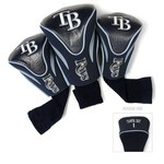 Team Golf Tampa Bay Rays Contour Sock Head Covers 3-Pack