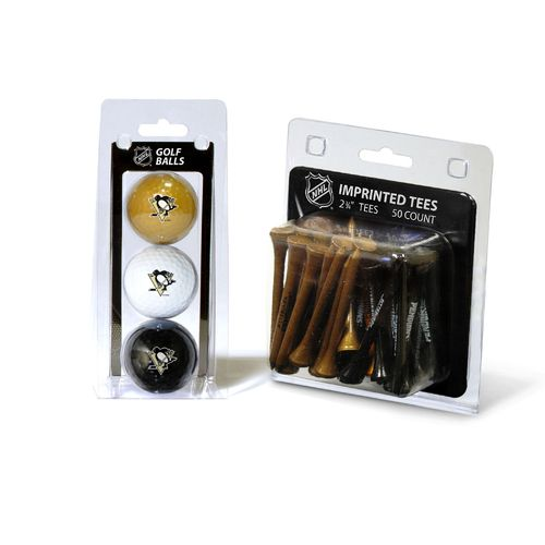Team Golf Pittsburgh Penguins Golf Ball and Golf Tee Set - view number 1
