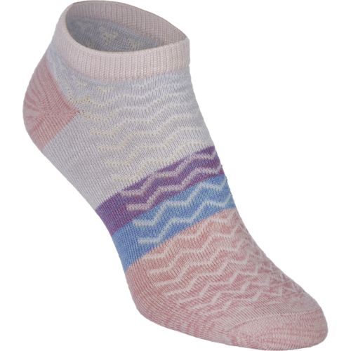 BCG™ Women's Super Soft Textured Stripe No-Show Socks 5-Pack
