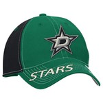 Reebok Men's Dallas Stars Face-Off Adjustable Slouch Cap