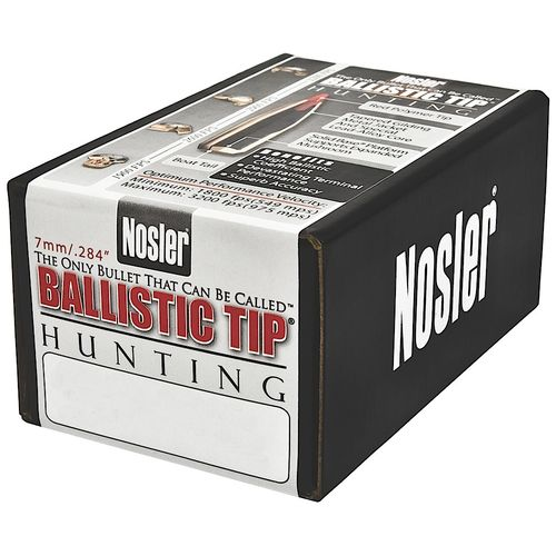 Display product reviews for Nosler Ballistic Tip Hunting Reloading Bullets