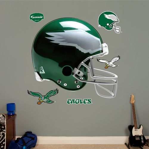 Fathead Philadelphia Eagles Real Big Throwback Helmet Decal