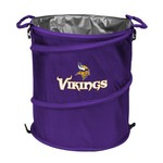 Logo Minnesota Vikings Collapsible 3-in-1 Cooler/Hamper/Wastebasket